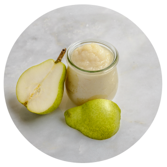 Anjou pear puree for babies