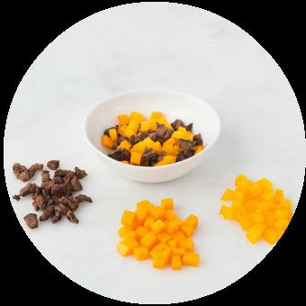 Bison, Butternut Squash & Yellow Pepper_circle