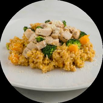 Chicken, Broccoli & Squash Risotto_circle