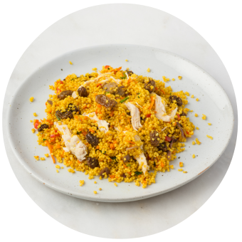 Curried Couscous Salad with Chicken_circle