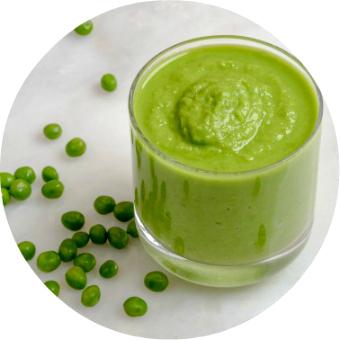English pea puree for babies