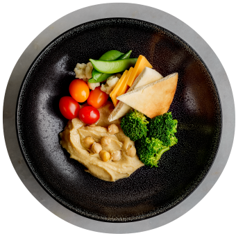 Hummus Plate with Market Vegetables 3_circle