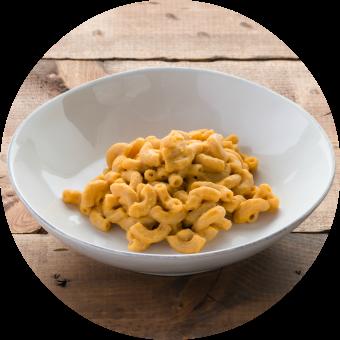 Mac & Cheese with Cauliflower Circle