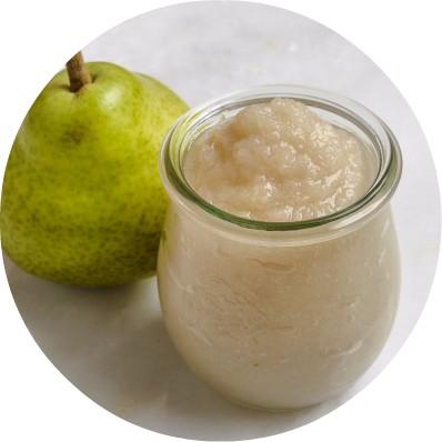 Anjou pear puree for babies