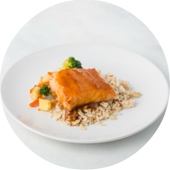 Teriyaki Salmon Proof