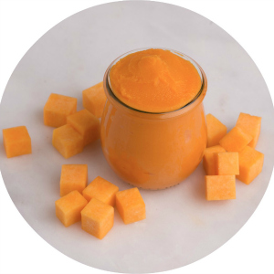 Butternut squash puree for babies