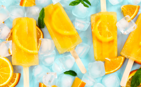 Healthy, Homemade Popsicles